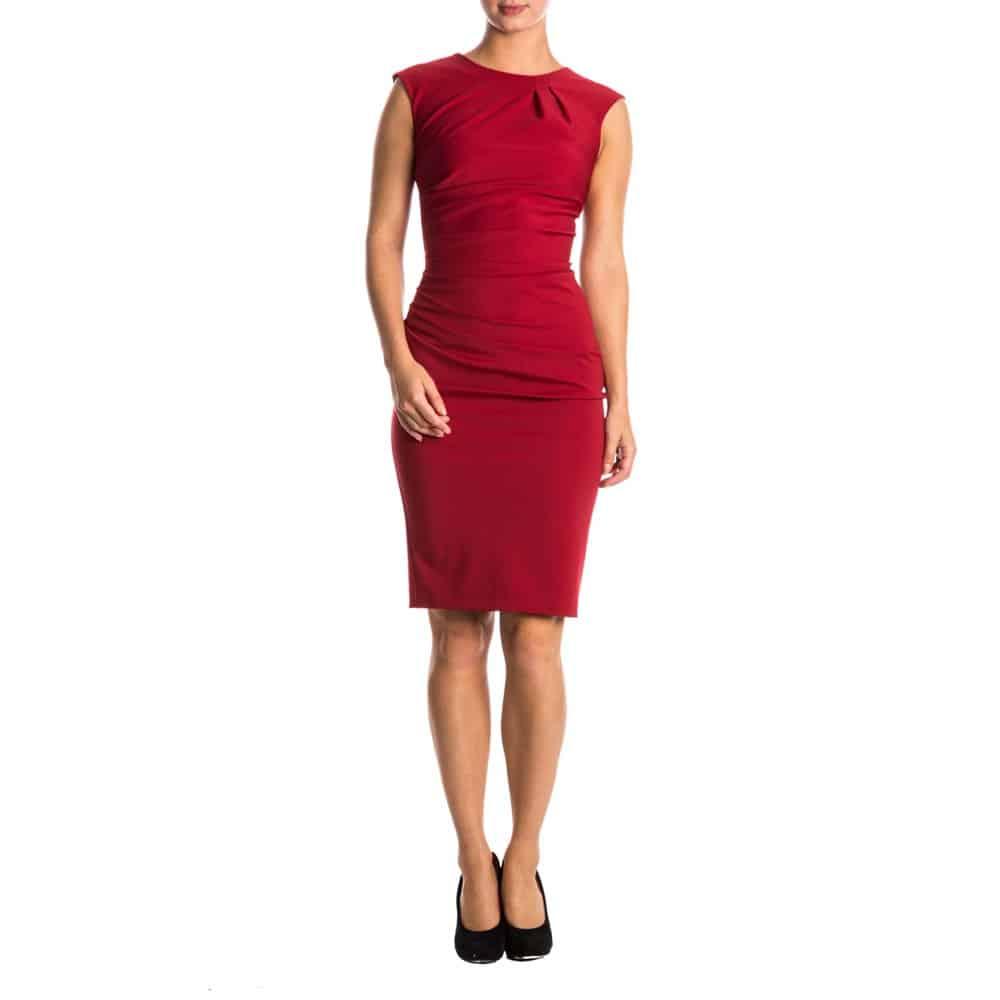 jurk-rinascimento-geel-en-rood-1855483