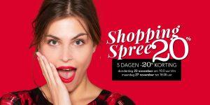 5-daagse SHOPPING SPREE
