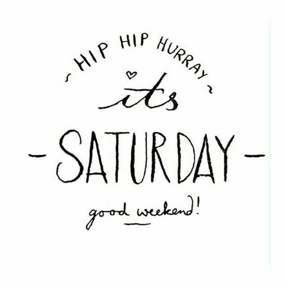 hooray-saturday