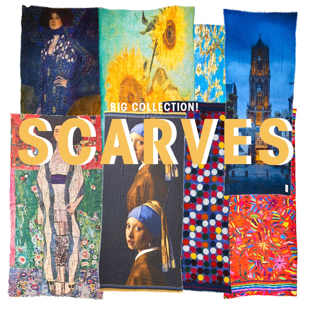 Big collection scarves